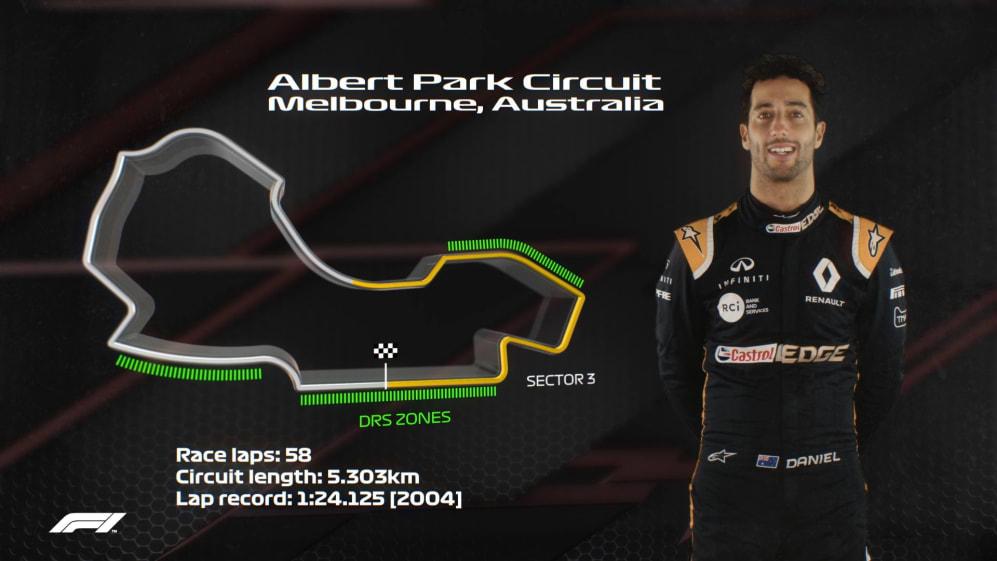 AUSTRALIA: Daniel Ricciardo's Melbourne circuit guide