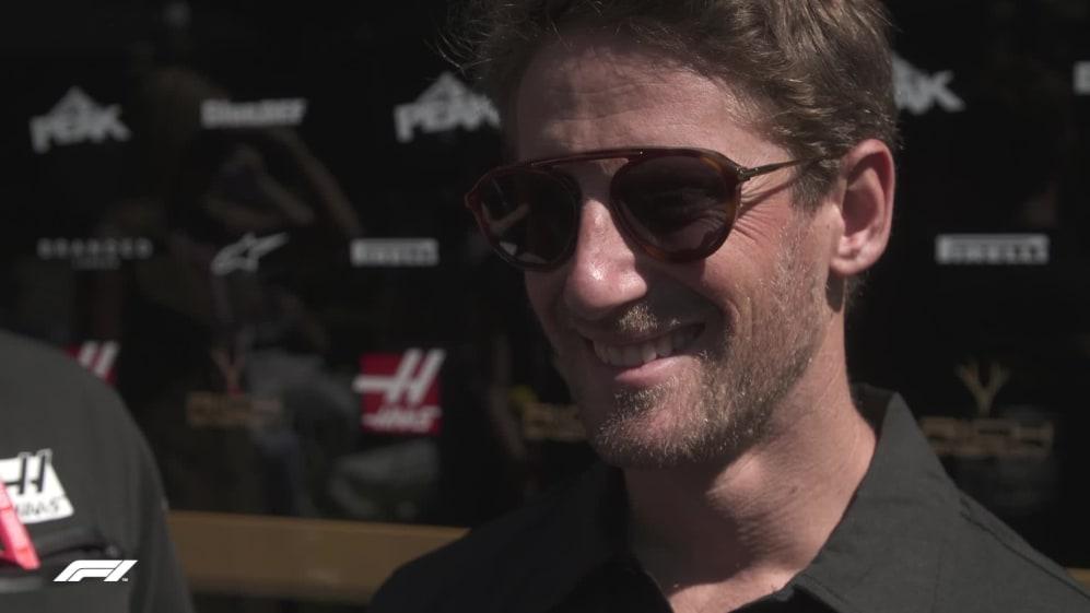 Romain Grosjean: Looking forward to 'getting back to school'