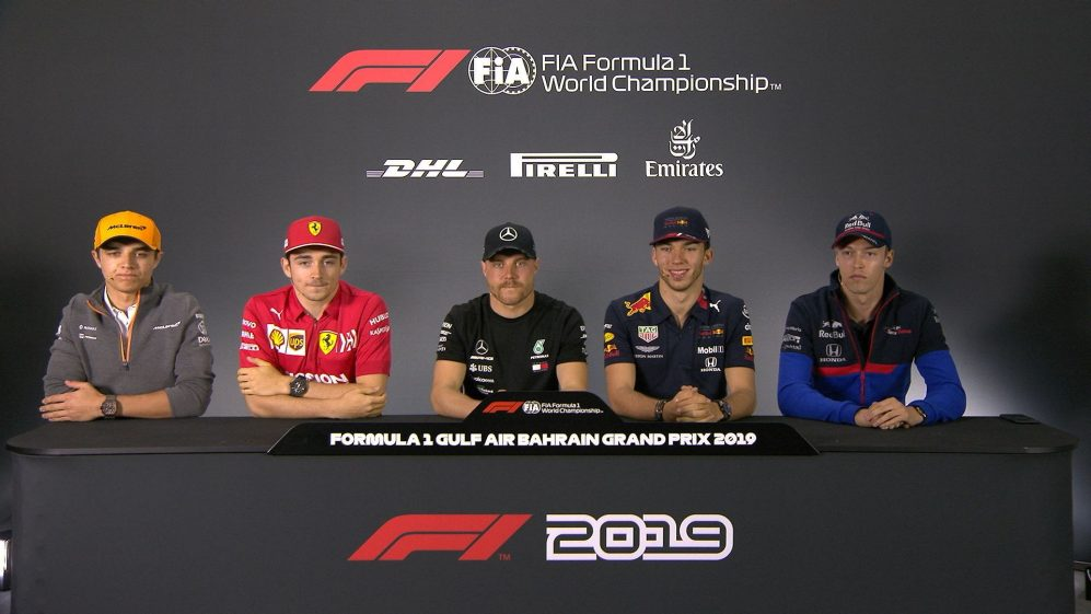 BAHRAIN: FIA pre-race press conference highlights
