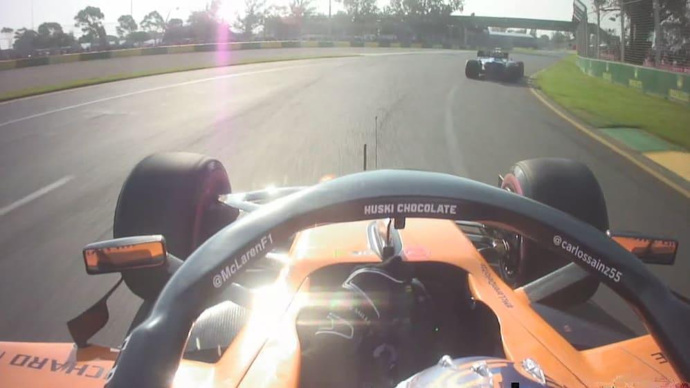Carlos Sainz impeded in qualifying