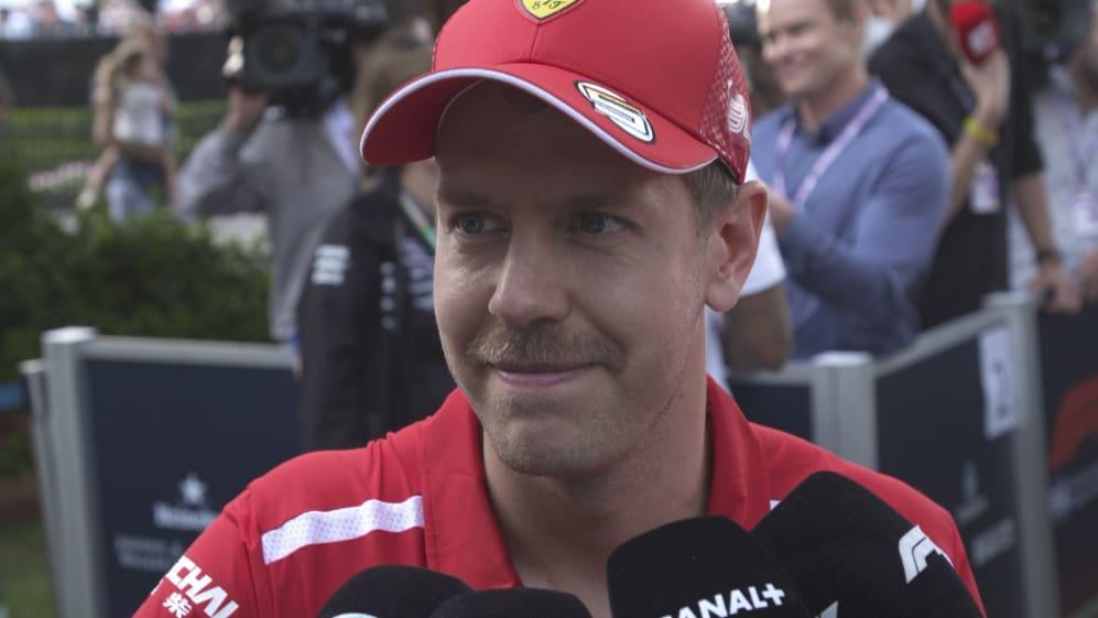 Sebastian Vettel: 'Surprised' at gap to Mercedes