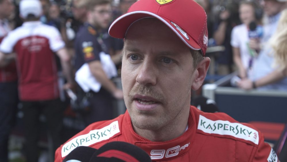 Sebastian Vettel: Suprised and shocked by Mercedes' speed