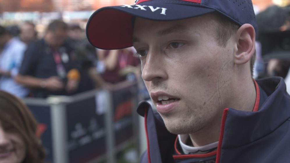Daniil Kvyat: 'We didn't extract the maximum' today