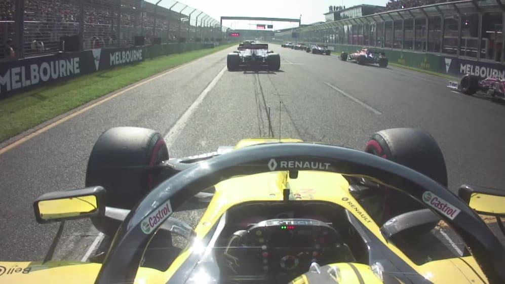 Hulkenberg's fantastic Australian GP start