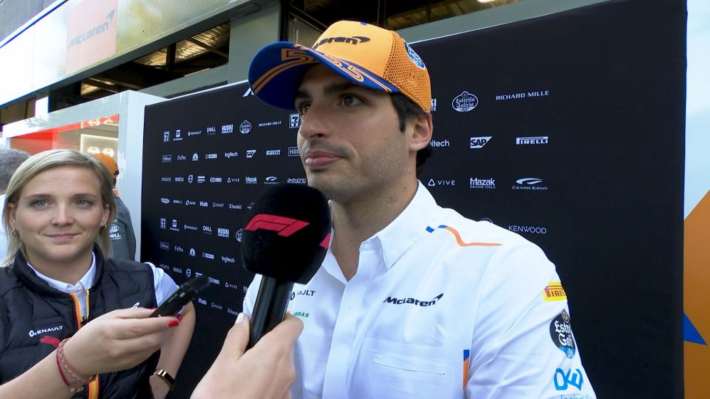 Carlos Sainz: 'A difficult day...but we're smiling'