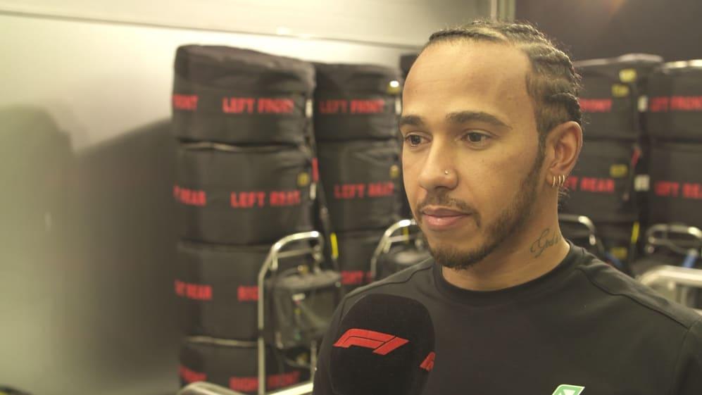 Lewis Hamilton: The Ferraris are 'quite far ahead' right now