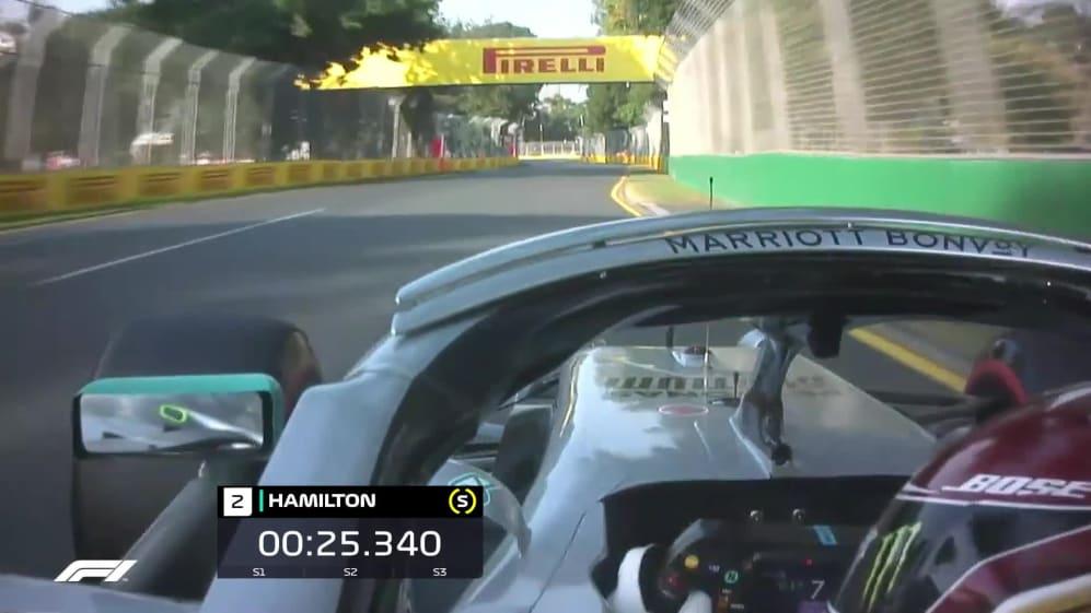 ONBOARD: Lewis Hamilton's Australia Pirelli pole position lap