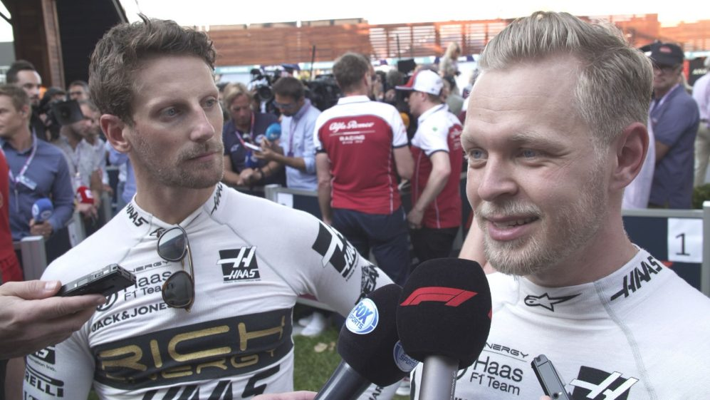 Romain Grosjean and Kevin Magnussen: Haas drivers happy with top ten finish