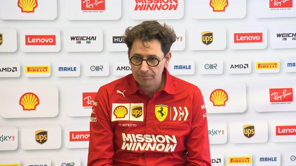 Mattia Binotto - 'Wrong to think we are faster than Mercedes'