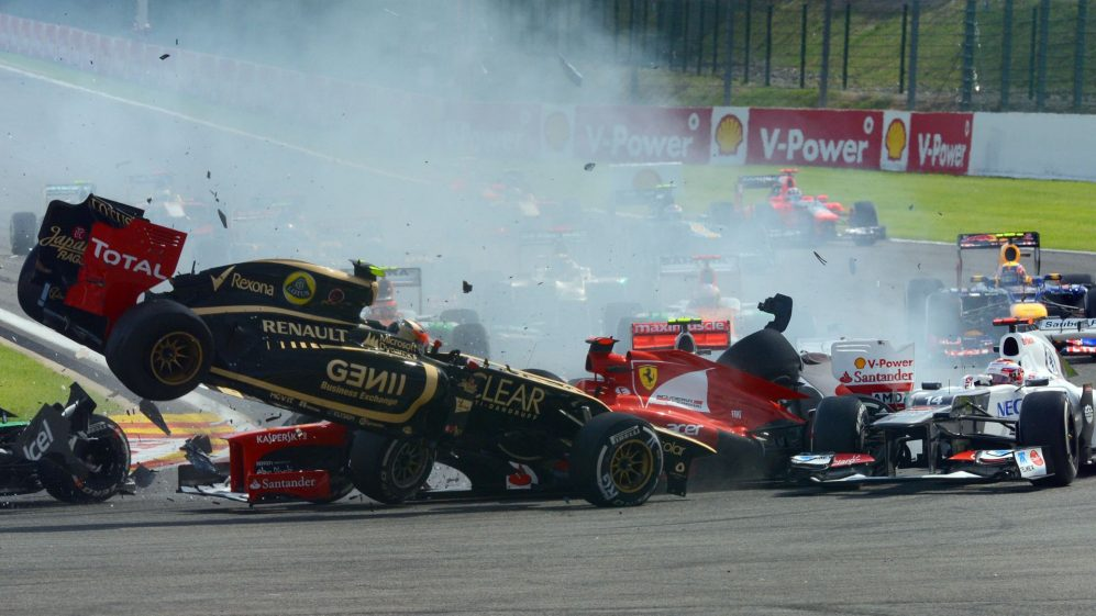 Top 10: Spectacular Opening Lap Crashes