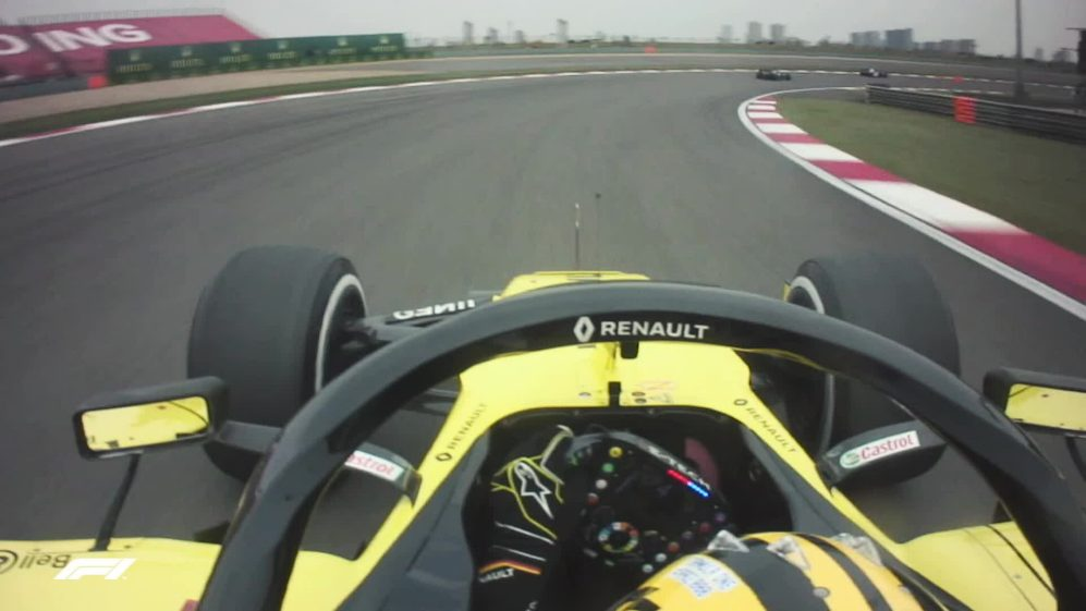MUST-SEE: Hulkenberg's attempts to reset his Renault before Chinese GP retirement