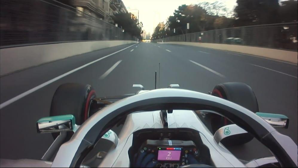 ONBOARD: Valtteri Bottas' Azerbaijan Pirelli pole position lap
