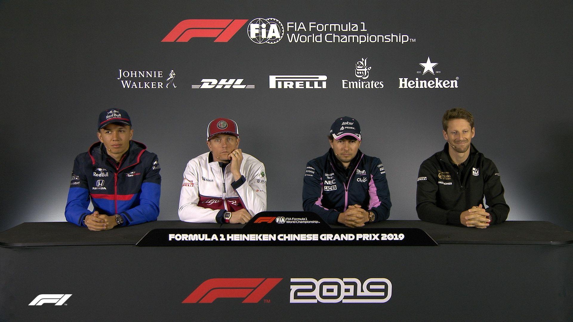 CHINA: FIA pre-race press conference highlights