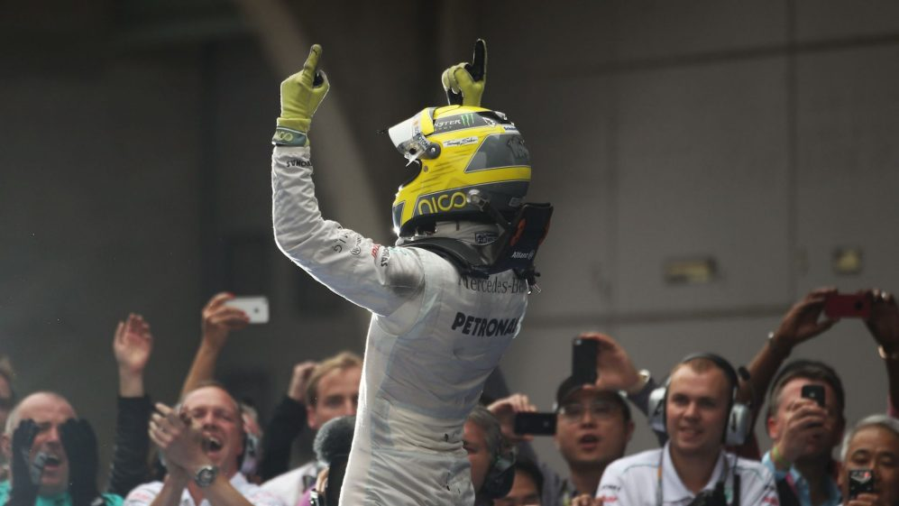 F1 Vault: Rosberg takes Mercedes' first win since 1955