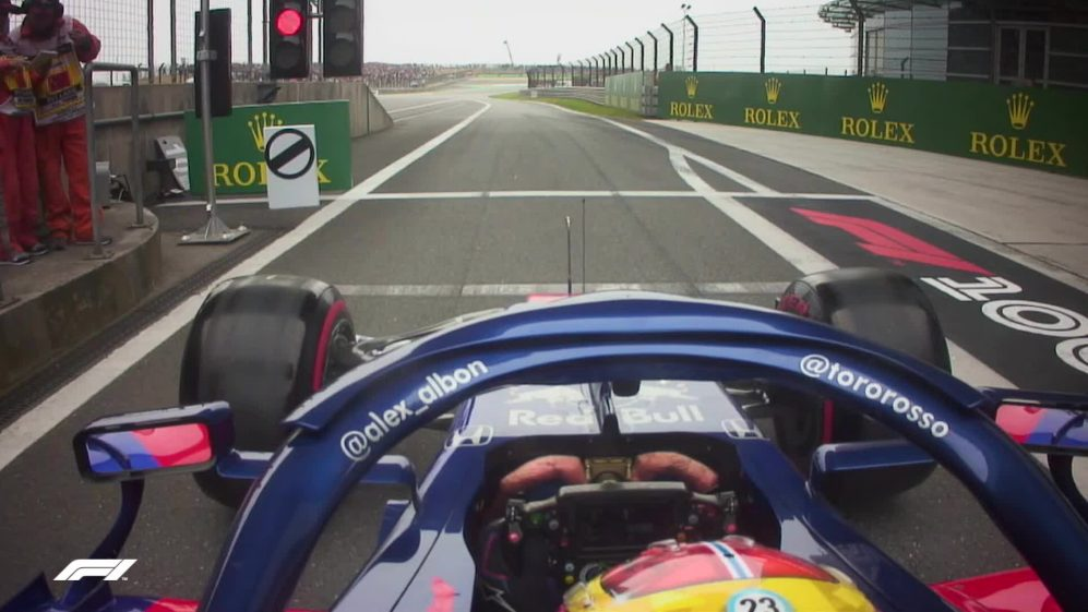 CHINESE GP: Alex Albon's epic drive from the pits to the points