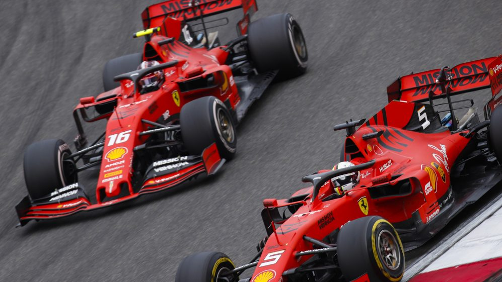 How Ferrari's Chinese Grand Prix driver switch played out​