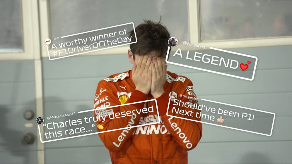 The internet reacts to Charles Leclerc's roller coaster Bahrain GP