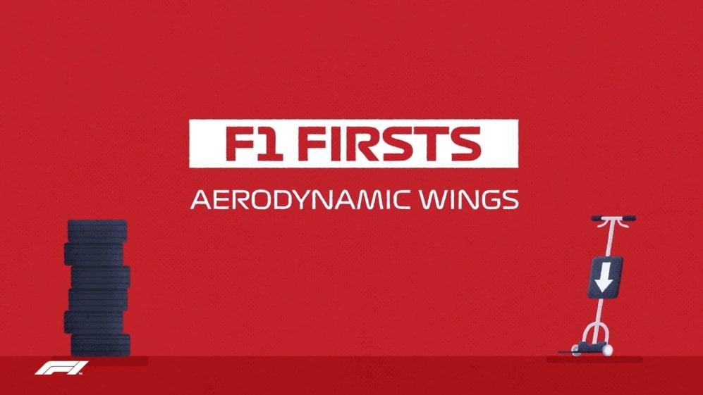 F1 Firsts: Aerodynamic wings