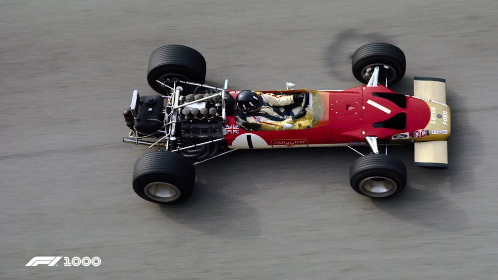 Damon Hill drives father Graham's legendary Lotus 49