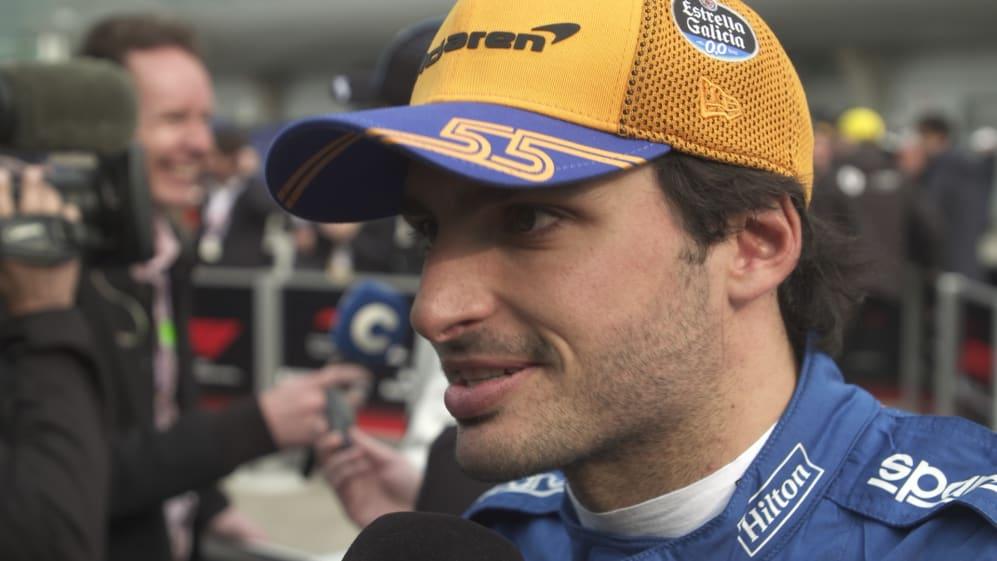 Carlos Sainz: Kvyat 'created a bit of a melee' on first lap