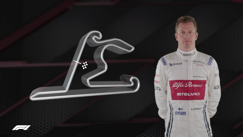 CHINA: Kimi Raikkonen's Shanghai circuit guide