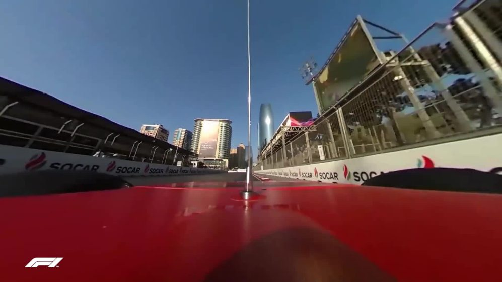 FP2: A breathtaking 360 onboard ride with Charles Leclerc