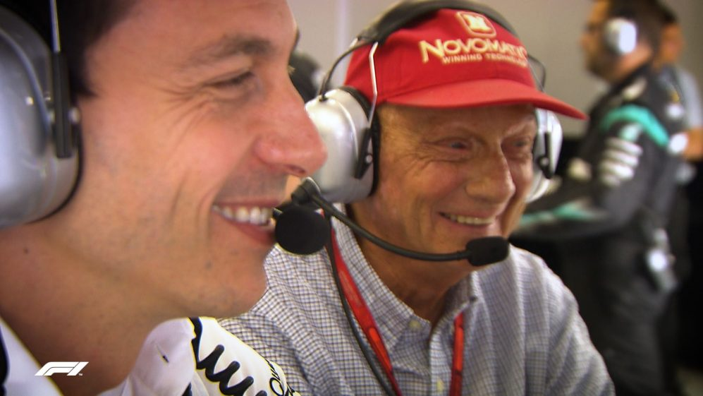 Toto Wolff's heartfelt tribute to friend and colleague Niki Lauda