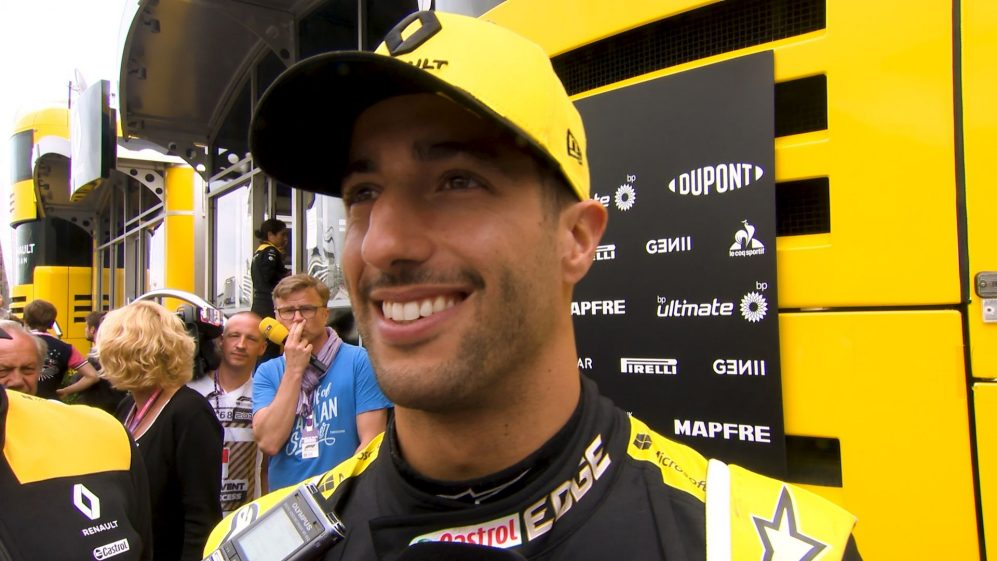 Daniel Ricciardo: We can improve our position in qualifying