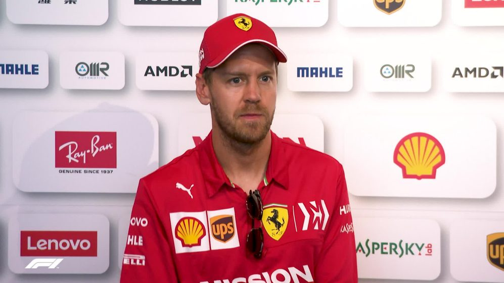 Sebastian Vettel - We're just not quick enough