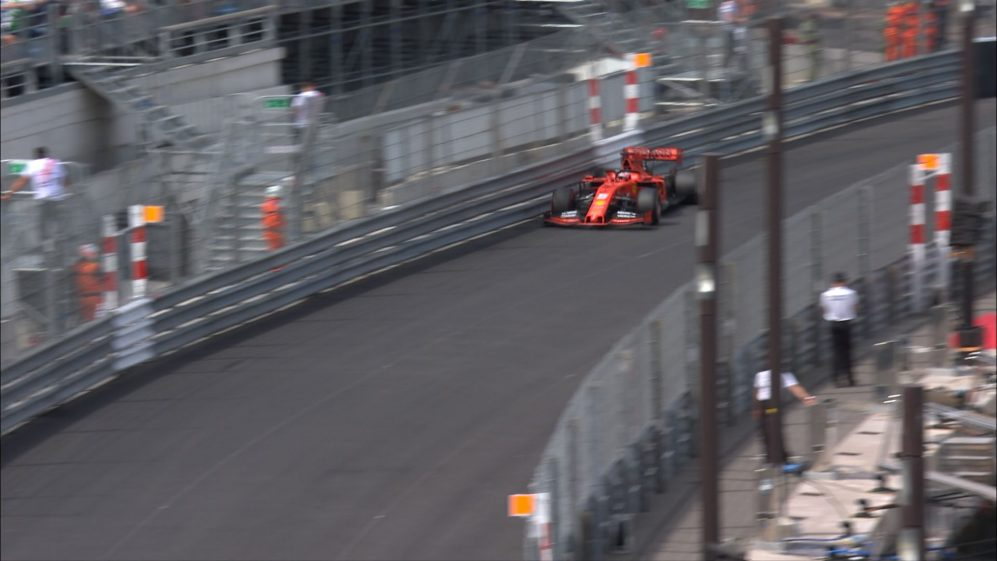 QUALIFYING: Late barrier strike at Tabac costs Vettel