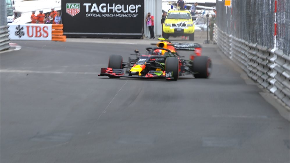 FP1: Massive save keeps Gasly out of the Monaco barriers