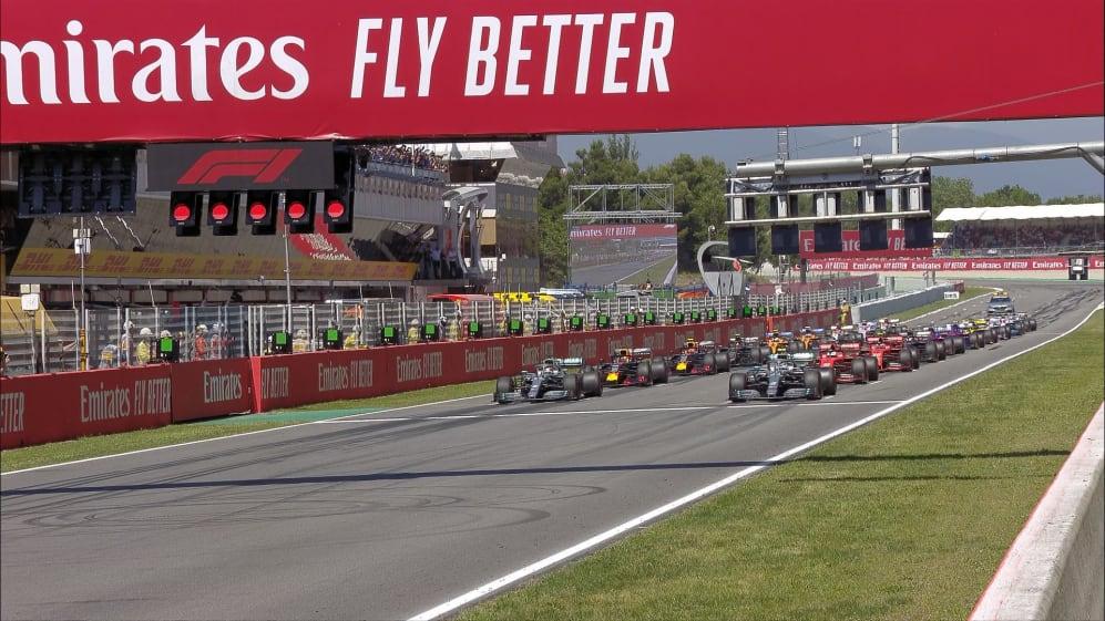 SPANISH GP: Watch the F1 race start in Barcelona