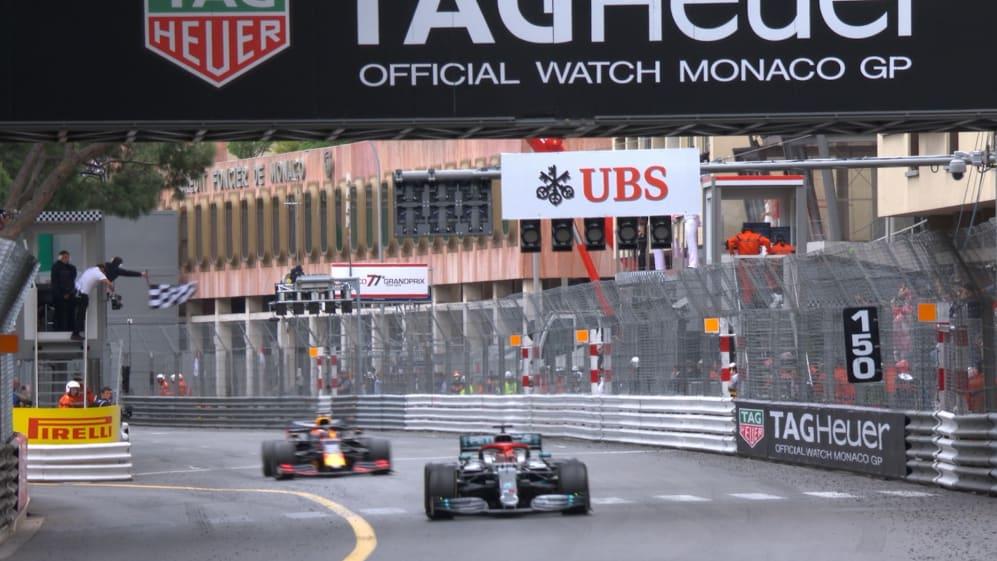 MONACO GP: The moment Lewis Hamilton took victory in Monte Carlo
