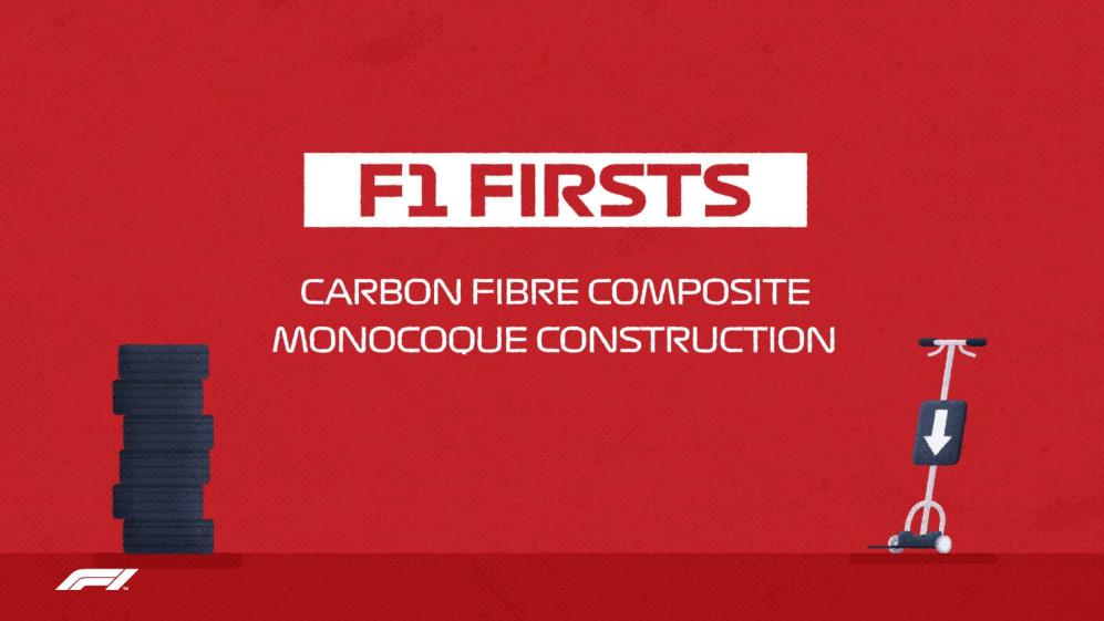 F1 Firsts: Carbon fibre monocoques