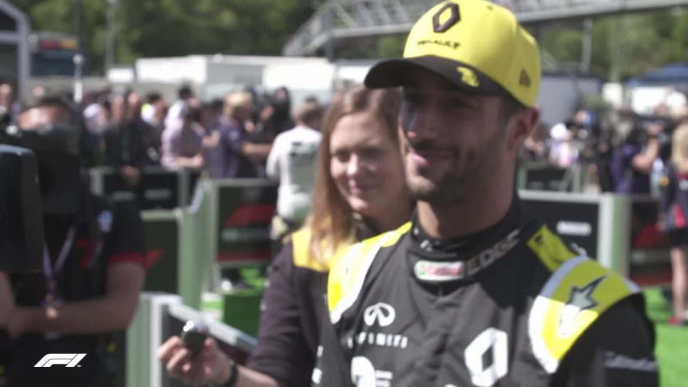Daniel Ricciardo: 'A good afternoon' despite issues