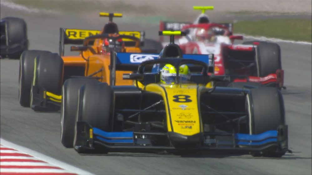 F2 2019 Round 3: Spain sprint race highlights
