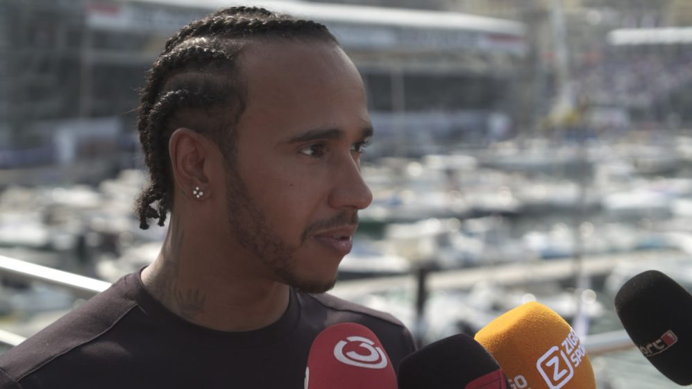 Lewis Hamilton: 'Means the world' to get pole today