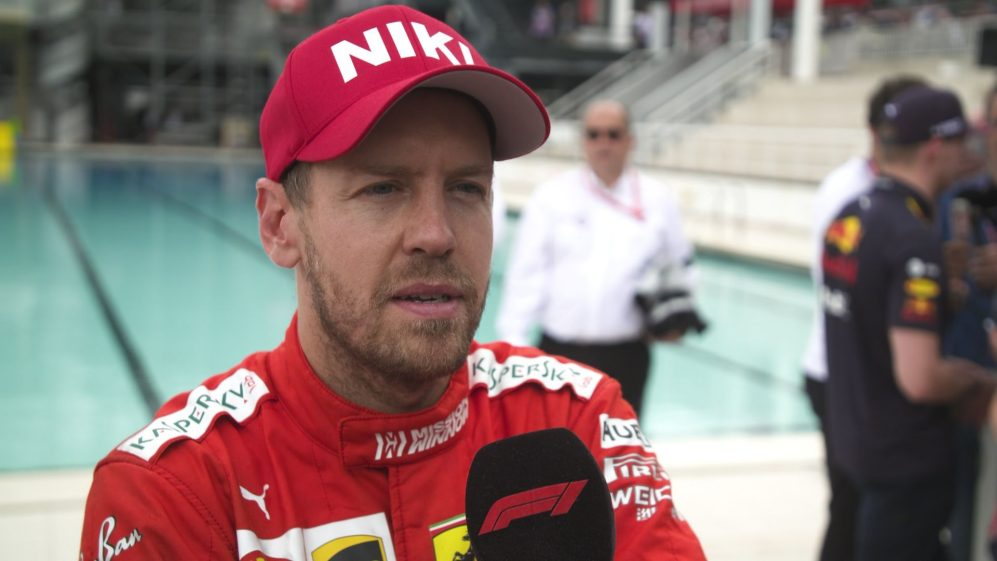 Sebastian Vettel: Happy - but 'our pace wasn't quite P2 today'