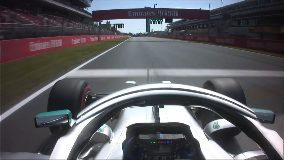 ONBOARD: Valtteri Bottas's Spain Pirelli pole position lap
