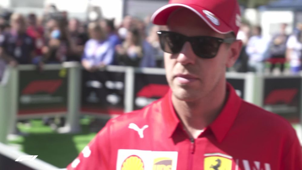 Sebastian Vettel: Happy with P3 - but not with the gap to Mercedes