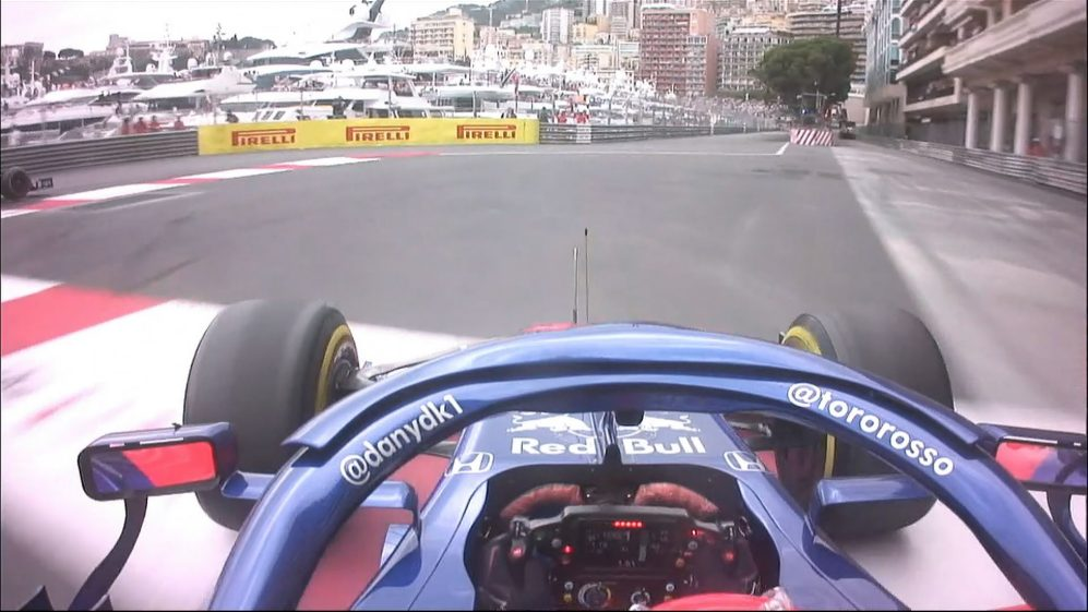 MONACO GP: Flying Kvyat goes straight on at the chicane