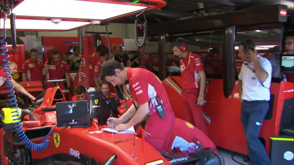 Qualifying: Mechanical issue means Vettel unable to run in Q3
