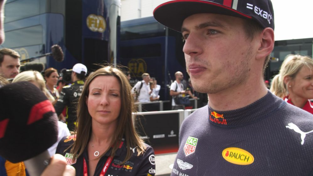 Max Verstappen didn't have 'enough grip and speed'