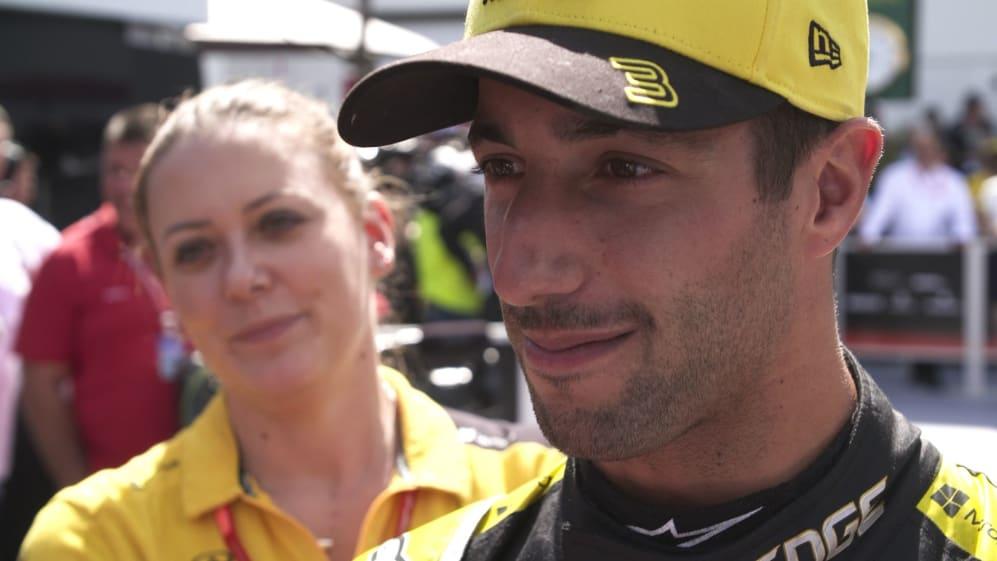 Daniel Ricciardo: It's been coming, but P4 is a surprise