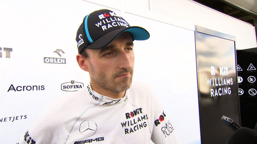 Robert Kubica: Track was very dusty and dirty