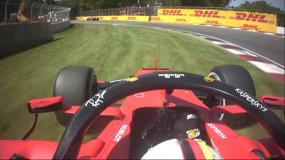 Canadian GP: Mistake almost costs Vettel the lead to Hamilton