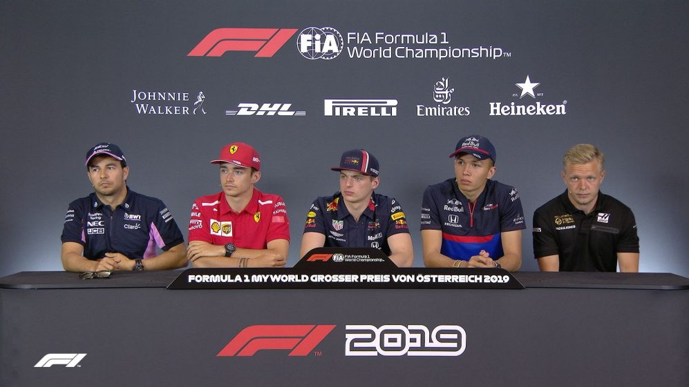 AUSTRIA: FIA pre-race press conference highlights