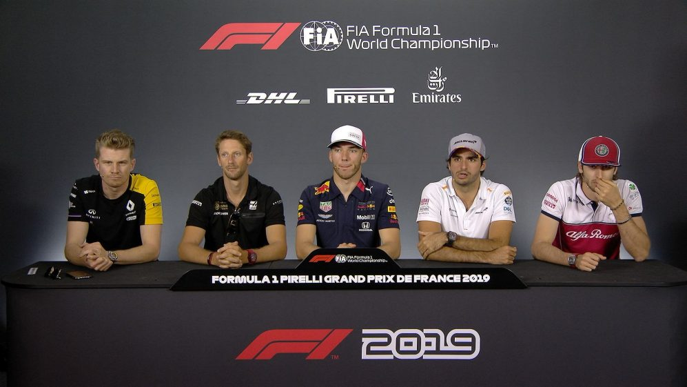 FRANCE: FIA pre-race press conference highlights