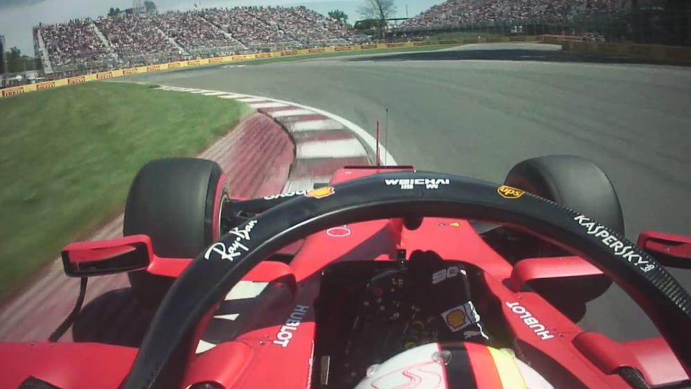 ONBOARD: Sebastian Vettel's Canada Pirelli pole position lap