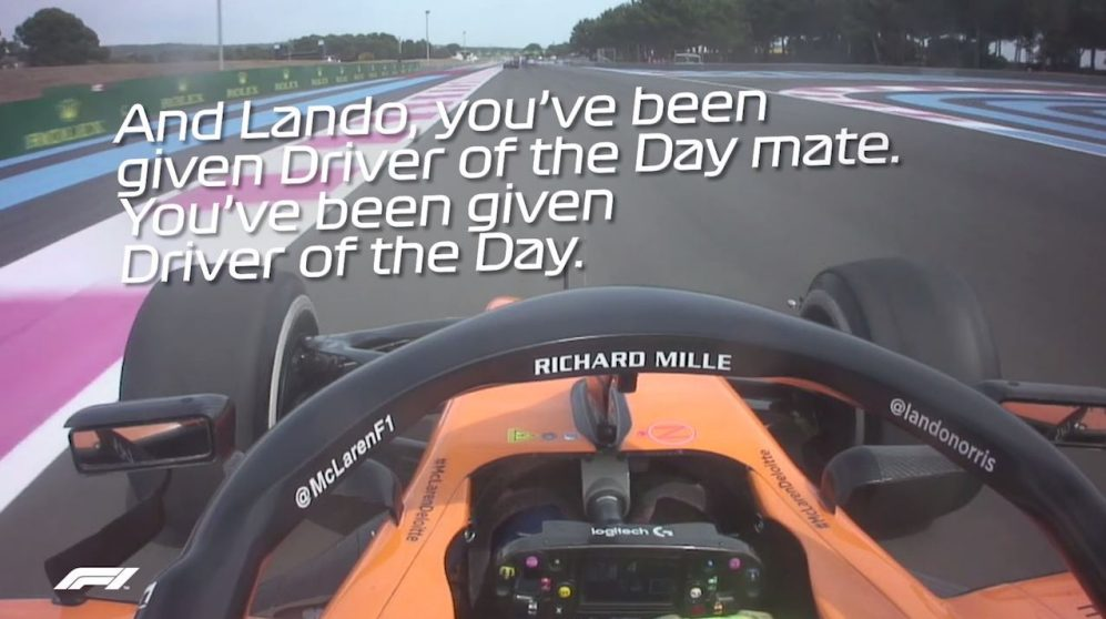Re-live Lando Norris's dramatic French Grand Prix